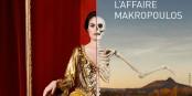 """Sieht ein wenig aus wie """"Mars attacks"""", ist es aber nicht - sondern """"L'affaire Makropulos"""". Foto: Opéra National du Rhin"""