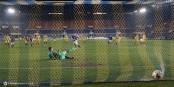 So geht's... Bouanga verwandelt den Elfmeter zum 2:1 gegen SAS Epinal, ein Tor, das den Weg zum Aufstieg öffnet... Foto: Phil Bergdolt / LAFA