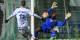 Der Colmarer Keeper Mensah konnte die Niederlage von SR Colmar gegen Racing Strasbourg (0:3) auch nicht verhindern. Foto: (c) Phil Bergdolt 2016 / LAFA