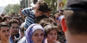 Comme ici à la frontière entre la Grèce et la Macédoine, l'Europe se montre incapable de mener une politique solidaire et humaniste. Foto: Bundesministerium für Europa, Integration und Äusseres / Wikimedia Commons / CC-BY 2.0