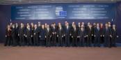 Belle photo de groupe de ceux qui sont en train de pervertir l'idée européenne. Si vous avez voté pour ces gens là, vous en êtes aussi responsable. Foto: (c) European Council 2016
