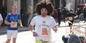 Lors du Marathon de Freiburg, on peut faire des rencontres assez surprenantes... Foto: Eurojournalist(e)
