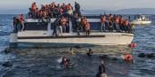 Depuis hier, les réfugiés arrivant en Grèce comme ici à Lesbos, sont systématiquement refoulés en Turquie. Un crime contre l'humanité. Foto: Ggia / Wikimedia Commons / CC-BY-SA 4.0int
