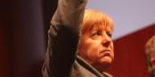"""Ihre Partei, die Opposition, die öffentliche Meinung, Europa - alle lassen """"Mutti"""" im Schnee stehen. Foto: Eurojournalist(e)"""