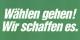 Die schlechteste Wahl von allen ist es, nicht wählen zu gehen. Aber auch andere Optionen sind ziemlich mies... Foto: Konrad-Adenauer-Stiftung / KAS ACDP 10-009-910 / Wikimedia Commons / CC-BY-SA 3.0 DE