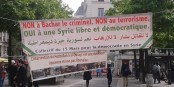 Il y a déjà plus d'un an, ces manifestants avaient compris qu'il fallait s'opposer autant à Assad qu'au terrorisme. Foto: JJJ Georges / Wikimedia Commons / CC-BY-SA 4.0int