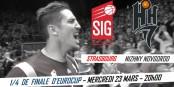 Am Mittwoch können die Basketballer der SIG ein Stück elsässische Sportgeschichte schreiben... Foto: SIG