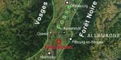 Fessenheim est très bien situé - pour rayer tout le Rhin Supérieur de la carte en cas d'accident. Foto: (c) Sémhur / Wikimedia Commons / CC-BY-SA 3.0