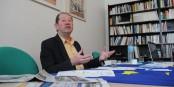 Un homme à convictions - Jacques Schmidt organise pour la 5e fois l'Itinéraire Citoyen Européen. Foto: Eurojournalist(e)