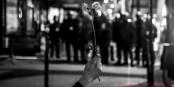 Pour l'instant, la révolte contre un système qui ne fonctionne plus, reste encore paisible. Foto: (c) Francis Azevedo / https://www.facebook.com/regardedansmesyeux/