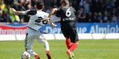Un match intense, une victoire méritée - le SC Freiburg se dirige vers la Bundesliga. Foto: (c) Peter Küchler