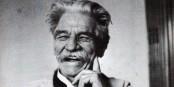 Dimanche, une lecture-concert à Kehl sera consacrée au grand humaniste et altruiste Albert Schweitzer. Foto: (c) Archives Centrales Albert Schweitzer Gunsbach / E. Anderson