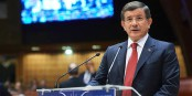 Le premier ministres turc a montré ce qui pense des soucis européens... rien. Foto: Sandro Weltin / (c) Council of Europe