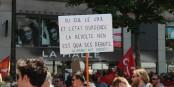 Die Franzosen sind auf ihre Regierung sauer - und werden im Arbeitskampf auch von deutschen Kollegen und Kolleginnen unterstützt. Foto: Eurojournalist(e)