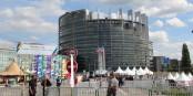Auch das Europäische Parlament in Strassburg stand auf der Liste der möglichen Anschlagziele der Terroristen von Paris. Foto: Eurojournalist(e)
