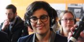 Ob die französische Arbeitsministerin El Khomri nach der Debatte im Parlament immer noch lächelt? Foto: Eurojournalist(e)