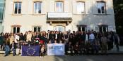 En plus, il a fait beau... les étudiants du programme ERASMUS se sont rencontrés à Strasbourg. Foto: Equipe ESN Strasbourg