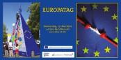 Ein buntes Programm bietet das Europafest in Freiburg. Bild: Programmflyer Europafest.