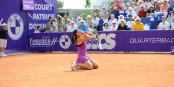 Matchball verwandet - Caroline Garcia ist von ihrem ersten WTA-Titel überwältigt. Foto: Chryslène Caillaud