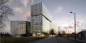 """Impressionen des künftigen """"Internationalen Geschäftsviertels"""" in Strassburg... Foto: Stadt Strassburg / Linkcity"""