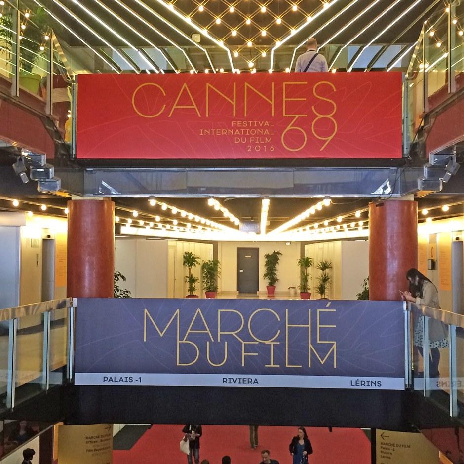 Cannes. Le cinéma mondial est au rendez-vous à la Croisette. Foto: Nicolas Colle