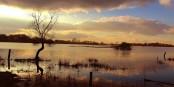 La pluie a transformé les champs en un paysage de lacs. Mais en temps normal, il n'y a pas de lac ici... Foto; Alaaddin Avciogullari / Wikimedia Commons / CC-BY-SA 4.0int