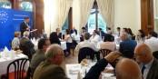 """Un débat animé et enrichissant sur le """"Brexit"""" à l'APE à Strasbourg. Foto: Fiona Goerg"""