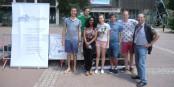 Jacques Schmitt est parti ! Première photo des rencontres citoyennes à Perpignan ! Foto: JS