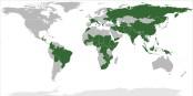 Médecins sans Frontières intervient dans tous les pays en vert... Foto: Silver Spoon / Wikimedia Commons / CC0