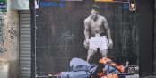 """Muhammad Ali war eine schillernde Persönlichkeit, sowohl im Ring als auch im """"echten"""" Leben. Foto: Combo / Wikimedia Commons / CC-BY-SA 3.0"""