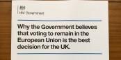 Et si les Britanniques écoutaient pour une fois leur gouvernement... Foto: MOTORAL1987 / Wikimedia Commons / OGL