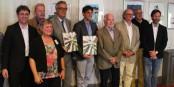 L'équipe ayant réalisé ce magnifique livre sur le patrimoine gastronomique du Rhin Supérieur. Foto: Eurojournalist(e)