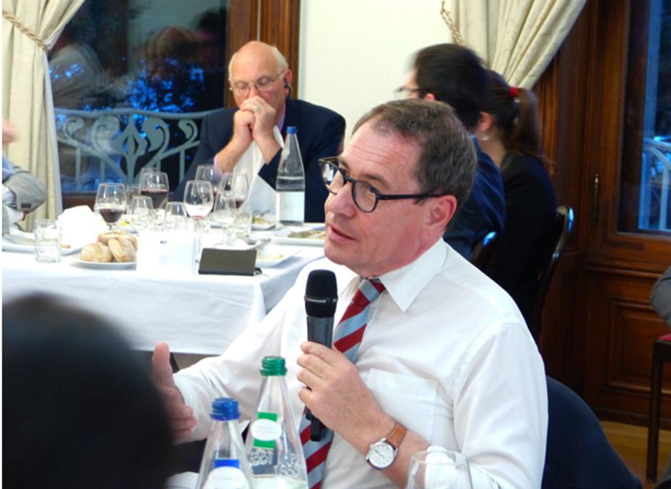 L'eurodéputé français Robert Rochefort se bat pour une Europe unie. Foto: Fiona Goerg