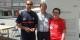 Jacques Schmitt à Santiago de Compostela avec Xésus et Maria - franchement, ça ne s'invente pas... Foto: privée