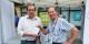 Jacques Schmitt avec le maire de Gernika-Lomo, José-Maria Gorrono. Une belle rencontre européenne. Foto: privée
