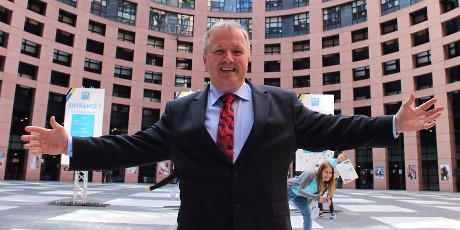 Arne Gericke ist einer der engagiertesten Kämpfer für den Sitz des Europäischen Parlaments in Strassburg. Foto: Familienpartei