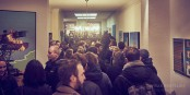 Zukunft fraglich: Kulturveranstaltungen in der Hildastraße 5. Foto: Kulturaggregat / Felix Groteloh.