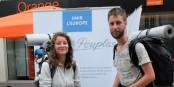 """Les jeunes sont les premiers concernés par la construction d'une """"nouvelle Europe"""". Foto: JS"""