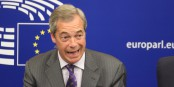 """Nigel Farage n'entend pas du tout libérer son siège de député européen. """"Je reste jusqu'à la fin de mon mandat"""". Eh ben. Foto: Eurojournalist(e)"""