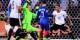 Et de deux... Griezmann marque le 2-0 pour sceller le match contre l'Allemagne. Foto: ScSh KL