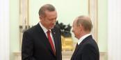 Auch die neue Männerfreundschaft Erdogan - Putin gehört zur türkischen Drohkulisse. Foto: kremlin.ru / Wikimedia Commons / CC-BY-SA 3.0