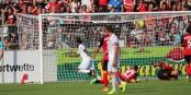L'international b'ésilien Luiz Adriano vient d'ouvrir le score à la 39e minute - 6 minutes plus tard, il allait doubler la mise. Foto: Eurojournalist(e)
