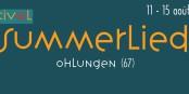 """Schon zum 11. Mal findet in Ohlungen das Festival """"Summerlied"""" statt - gewinnen Sie einen Tagespass für den  Samstag, den 13. August! Foto: summerlied.org"""