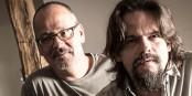"""Blues pur aus Leidenschaft:  Zwei der vier Musiker von """"Barrel of Blues"""". Foto: Stefanie Salzer-Deckert."""