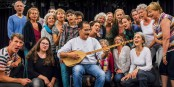 Freiburger Heimatklänge - Musikprojekt mit Geflüchteten. Foto: E-Werk.