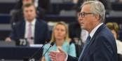 """Si le discours de Jean-Claude Juncker à Strasbourg était """"bien"""", il ne nous avance pas vraiment vers une """"nouvelle Europe"""". Foto: (c) European Union 2016 Source: EP"""