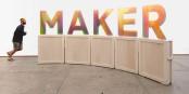"""Lukas Schneeweiss: """"Maker"""", 2016. Foto: mixed media."""