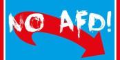 Les logos ne suffisent plus - il faut trouver des réponses politiques à la montée de l'extrême-droite. Foto: Rimbob Schwammkopf / Wikimedia Commons / CC-BY-SA 4.0int