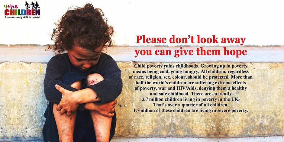 La pauvreté chez les enfants est dramatique et demande des solutions européennes. Foto: 4the Children / Wikimedia Commons / CC-BY-SA 4.0int