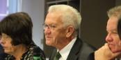 Winfried Kretschmann veut renforcer la coopération franco-allemande. Bien. Il peut y aller. Foto: Eurojournalist(e)
